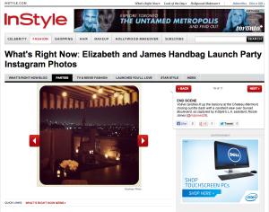 Elizabeth and James Handbag Launch Party Instagram Photos - Fashion - InStyle.com