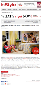 Flash Back to the '90s With Aubrey Plaza and Rachel Bilson in The To Do List : InStyle.com What's Right Now