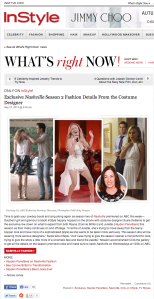 Nashville S1E1 Designer Interview