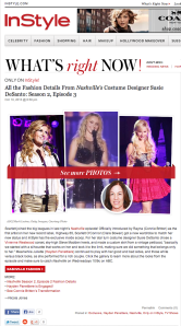 Nashville S2E3 Designer Interview
